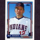 1992 Topps Baseball #609 Mike Hargrove MG - Cleveland Indians