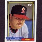 1992 Topps Baseball #602 Mike Fetters - California Angels