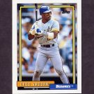1992 Topps Baseball #572 Greg Vaughn - Milwaukee Brewers