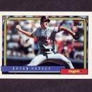 1992 Topps Baseball #568 Bryan Harvey - California Angels