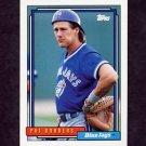 1992 Topps Baseball #563 Pat Borders - Toronto Blue Jays
