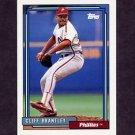 1992 Topps Baseball #544 Cliff Brantley - Philadelphia Phillies