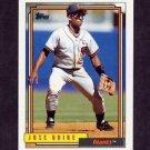 1992 Topps Baseball #538 Jose Uribe - San Francisco Giants