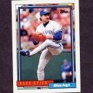 1992 Topps Baseball #535 Dave Stieb - Toronto Blue Jays