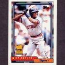1992 Topps Baseball #522 Milt Cuyler - Detroit Tigers