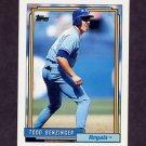 1992 Topps Baseball #506 Todd Benzinger - Kansas City Royals