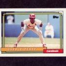 1992 Topps Baseball #498 Gerald Perry - St. Louis Cardinals