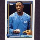 1992 Topps Baseball #494 Gary Thurman - Kansas City Royals