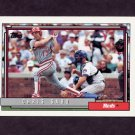 1992 Topps Baseball #485 Chris Sabo - Cincinnati Reds