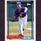 1992 Topps Baseball #482 Jimmy Key - Toronto Blue Jays