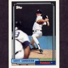 1992 Topps Baseball #480 Scott Sanderson - New York Yankees