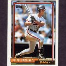 1992 Topps Baseball #479 Chito Martinez - Baltimore Orioles