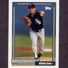 1992 Topps Baseball #477 Greg Hibbard - Chicago White Sox