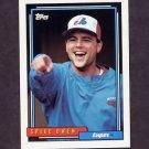 1992 Topps Baseball #443 Spike Owen - Montreal Expos