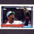 1992 Topps Baseball #436 Mookie Wilson - Toronto Blue Jays