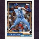 1992 Topps Baseball #431 Tom Gordon - Kansas City Royals