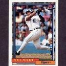 1992 Topps Baseball #425 Cecil Fielder - Detroit Tigers