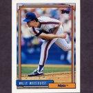 1992 Topps Baseball #419 Wally Whitehurst - New York Mets