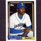 1992 Topps Baseball #411 Mike Jackson - Seattle Mariners