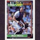 1992 Topps Baseball #404 Matt Nokes AS - Detroit Tigers