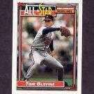 1992 Topps Baseball #395 Tom Glavine AS - Atlanta Braves
