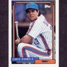 1992 Topps Baseball #376 Chris Donnels - New York Mets