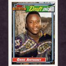 1992 Topps Baseball #336 Greg Anthony RC - San Diego Padres