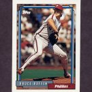 1992 Topps Baseball #307 Bruce Ruffin - Philadelphia Phillies