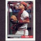 1992 Topps Baseball #304 Joe Oliver - Cincinnati Reds