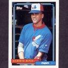 1992 Topps Baseball #286 Gilberto Reyes - Montreal Expos