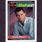 1992 Topps Baseball #246 Jason Pruitt RC - Kansas City Royals