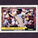 1992 Topps Baseball #160 Bobby Bonilla - Pittsburgh Pirates
