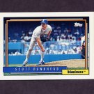 1992 Topps Baseball #155 Scott Bankhead - Seattle Mariners