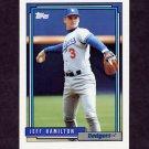1992 Topps Baseball #151 Jeff Hamilton - Los Angeles Dodgers