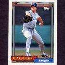 1992 Topps Baseball #149 Brian Bohanon - Texas Rangers