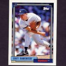 1992 Topps Baseball #102 Scott Kamieniecki - New York Yankees