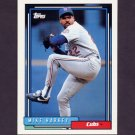 1992 Topps Baseball #098 Mike Harkey - Chicago Cubs