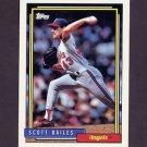 1992 Topps Baseball #095 Scott Bailes - California Angels