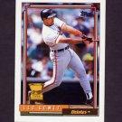 1992 Topps Baseball #084 Leo Gomez - Baltimore Orioles