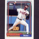 1992 Topps Baseball #068 Marvin Freeman - Atlanta Braves