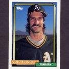 1992 Topps Baseball #062 Gene Nelson - Oakland A's