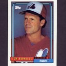 1992 Topps Baseball #051 Tom Runnells MG - Montreal Expos