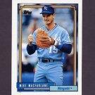 1992 Topps Baseball #042 Mike Macfarlane - Kansas City Royals