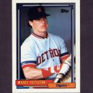 1992 Topps Baseball #029 Mickey Tettleton - Detroit Tigers