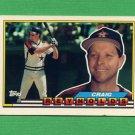 1989 Topps BIG Baseball #312 Craig Reynolds - Houston Astros