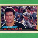 1989 Topps BIG Baseball #254 Curt Young - Oakland A's