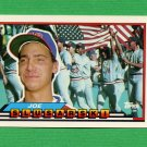 1989 Topps BIG Baseball #213 Joe Slusarski - Oakland A's
