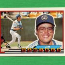 1989 Topps BIG Baseball #184 Jim Gantner - Milwaukee Brewers