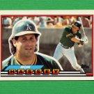 1989 Topps BIG Baseball #171 Ron Hassey - Oakland A's