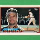 1989 Topps BIG Baseball #131 Gary Redus - Pittsburgh Pirates